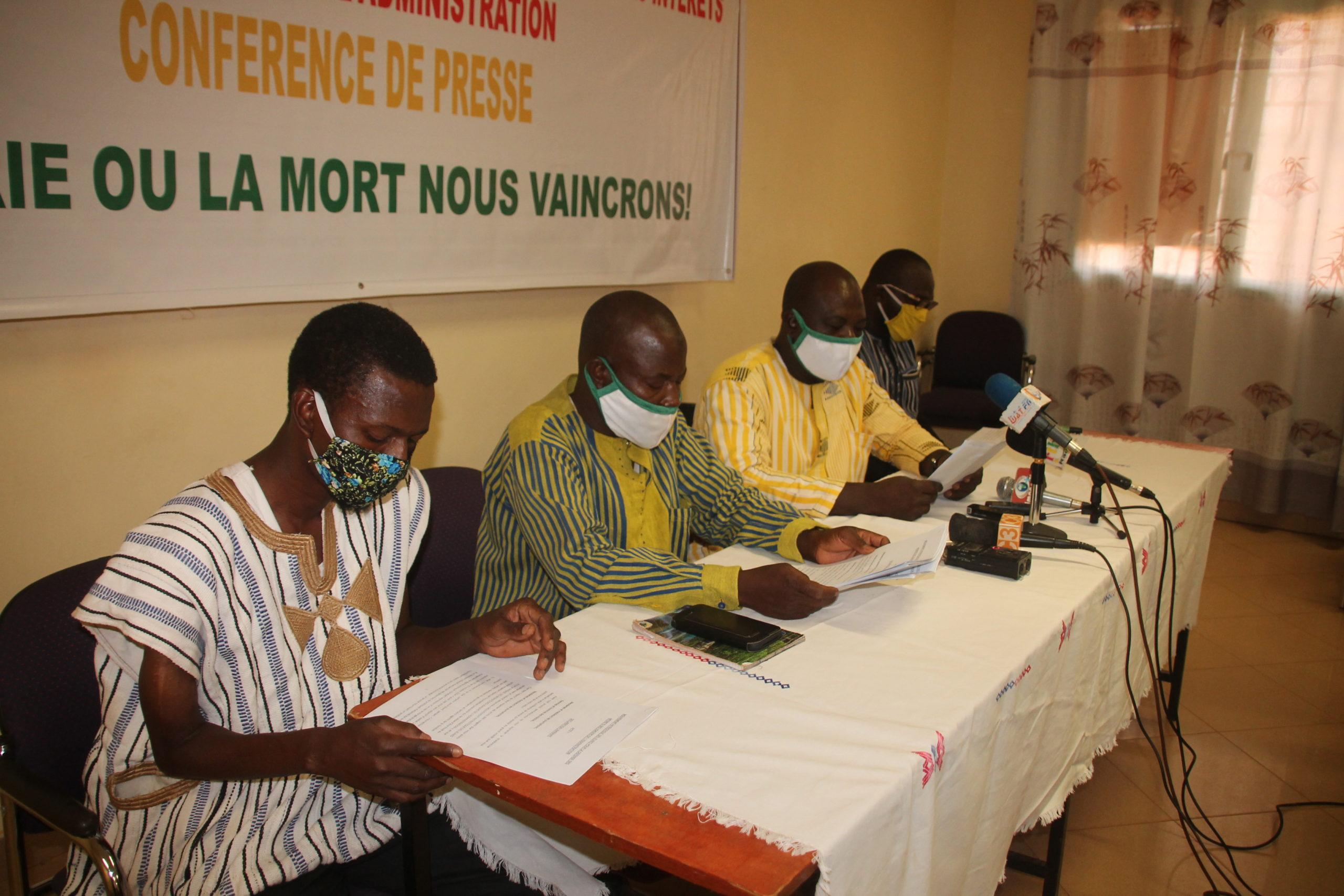 ADMINISTRATION PUBLIQUE: le MPJDIUA dénonce les maux qui minent le secteur