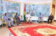 CENTENAIRE DES ASSEMBLÉES DE DIEU DU BURKINA FASO EN 2021 : le président du Faso échange avec le comité d'organisation