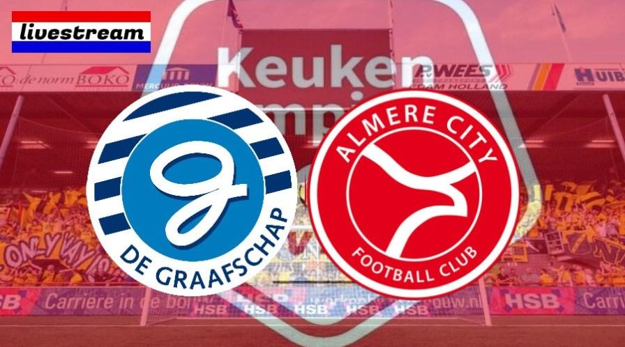 De Graafschap - Almere City kijken via een live stream