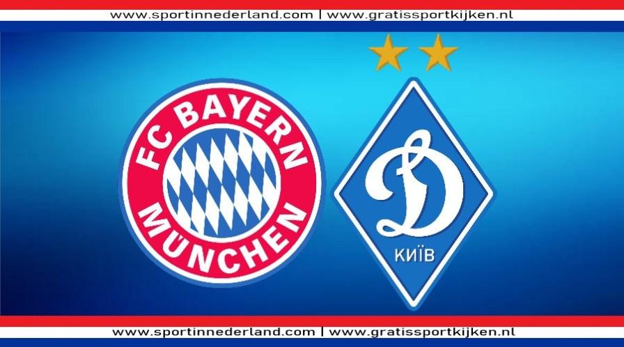Champions League livestream FC Bayern - Dynamo Kiev
