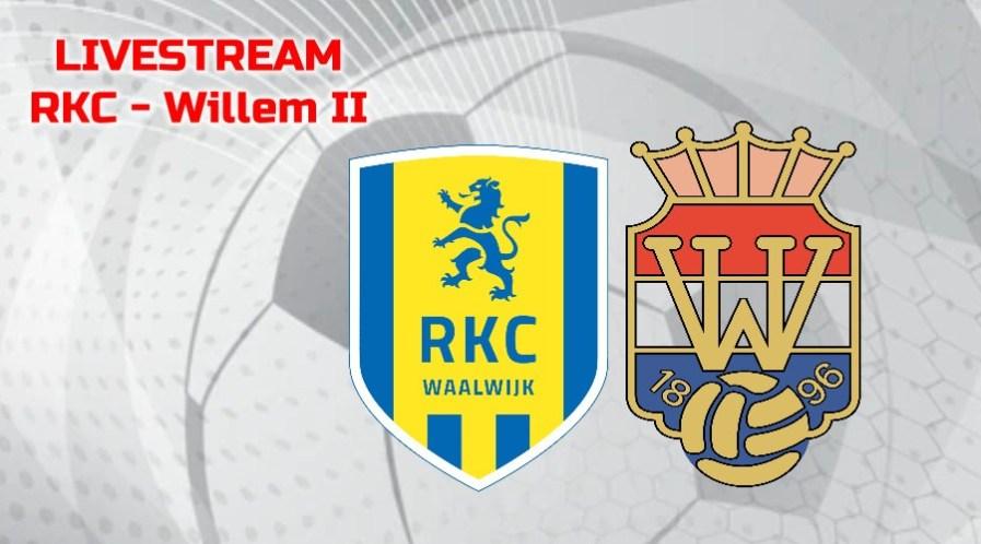 Kijk RKC - Willem II via een livestream