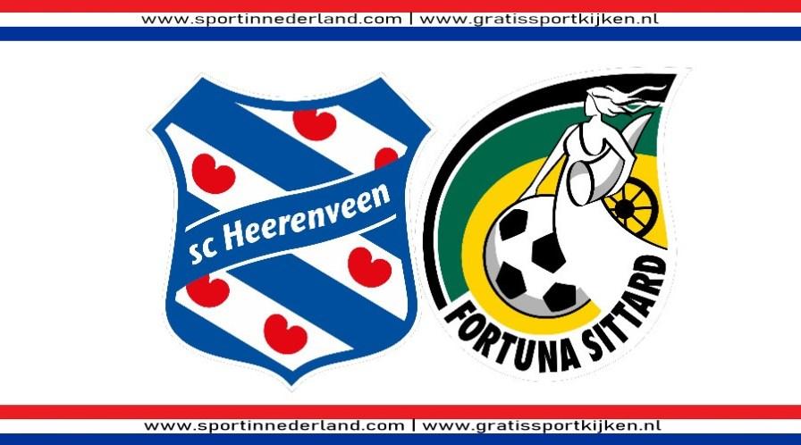 Kijk hier via een livestream SC Heerenveen - Fortuna Sittard