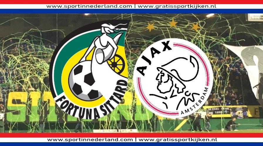 Live stream Fortuna Sittard - Ajax