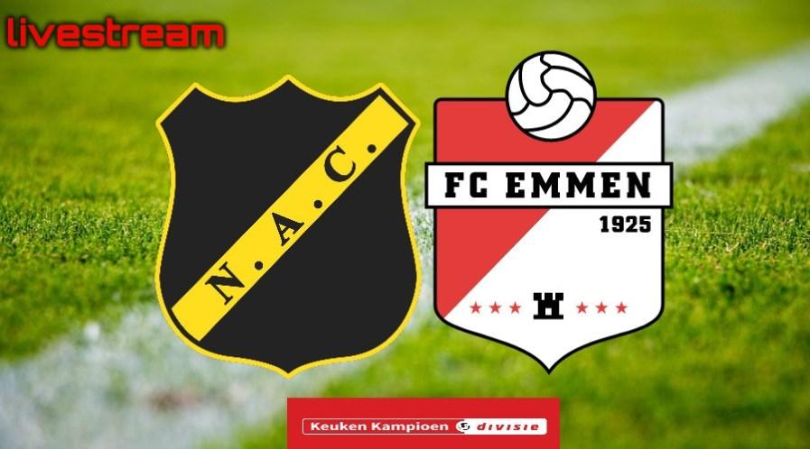 Livestream NAC - FC Emmen