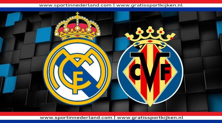 Livestream Real Madrid - Villarreal