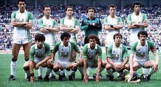 L'équipe nationale d'Algérie à la Coupe du monde 1986