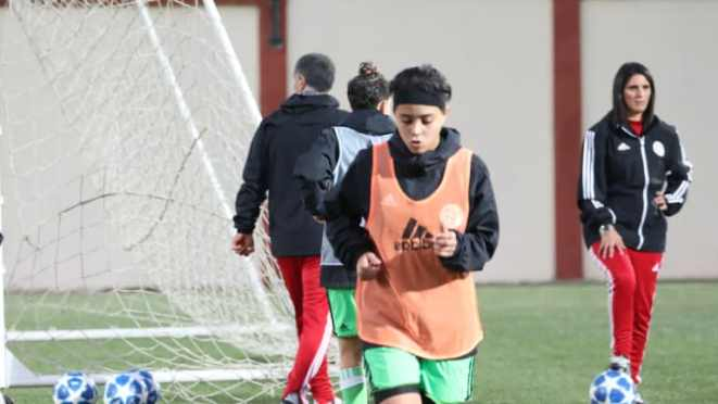 L'entraîneur algérien Nadia Belala