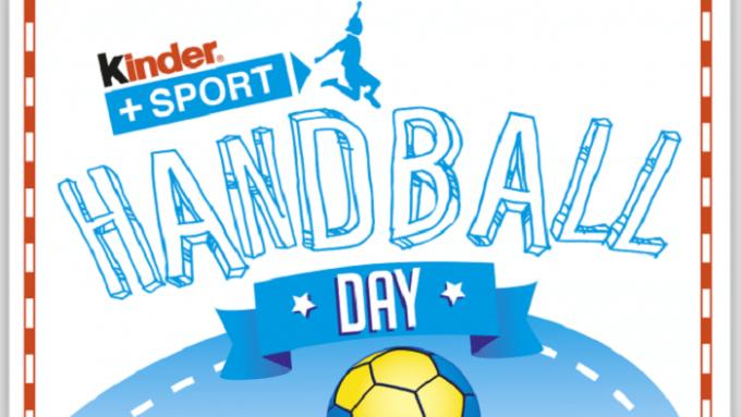 Logo du Kinder Handball Day