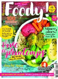 couverture du magazine foody