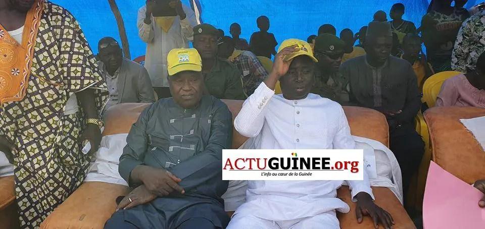 kant - Campagne électorale : Diakaria Koulibaly ovationné à Kantoumanina(Mandiana)