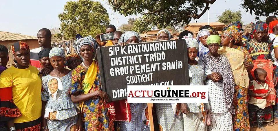 kkant - Campagne électorale : Diakaria Koulibaly ovationné à Kantoumanina(Mandiana)