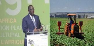 Ouverture de la conférence international sur l'agriculture à Dakar