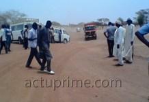 Manifestation de colère des chauffeurs de Dahra