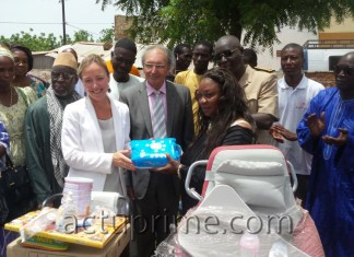 Solidarité associative franco-sénégalaise en faveur de l'orphelinat Edeukeur de Tambacounda