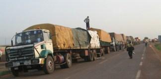 Les transporteurs en grève mi-Août
