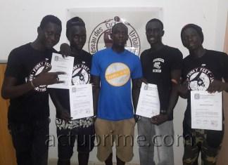 La danse hip hop à Tambacounda