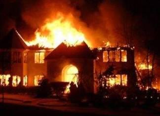 La maison de Serigne Baye Sy a brûlée