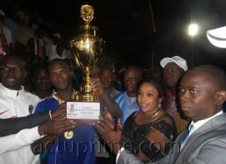 L'Asc Santos de Tambacounda prend la coupe communale