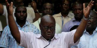 Nana Akufo Addo vainqueur de la présidentielle au Ghana