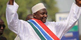 Adama Barrow élu président de Gambie