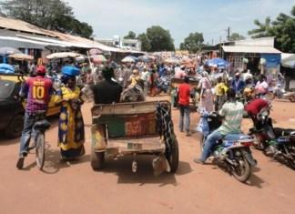 Le marché sous régional de Tambacounda