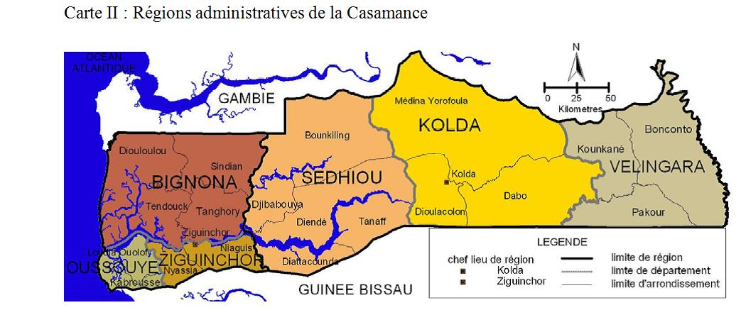 La Casamance est en bonne voie pour son dsenclavement