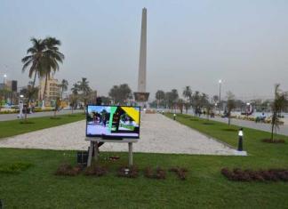 La Place de l'Obélisque à Dakar