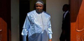 L e nouveau président Adama Barrow