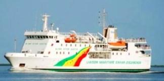 La liaison maritime entre Dakar et Ziguinchor