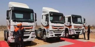 330 camions pour le renouvellement des gros porteurs