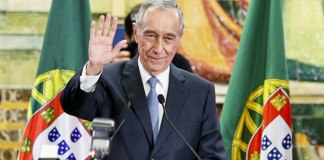 Le président portugais, Marcelo Rebelo de Sousa