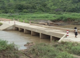 La route Koungheul - Fass Tiéckène