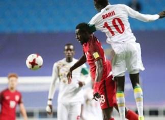 U20, Sénégal-Etats-Unis