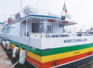 Les bateaux taxis entre Dakar et Rufisque