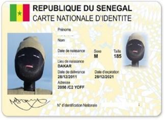 Les anciennes cartes d'identité nationales