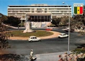 Siège de l'assemblée nationale à Dakar