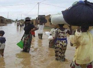 De la pluie et des dégâts à Kaffrine