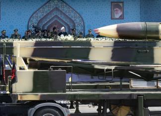 Un missile Khoramshahr d'Iran