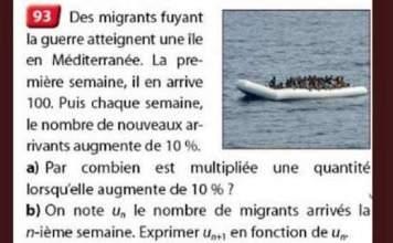 Les migrants et les mathématiques