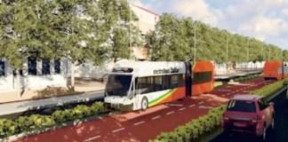 Bus rapide transit