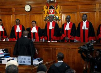 Conseil constitutionnel et Cour suprême au Kenya