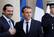 Saad Hariri et Emmanuel Macron