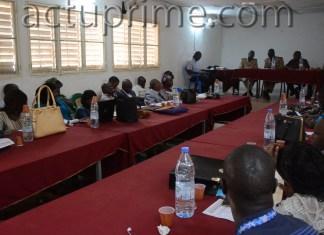 Réunion d'évaluation du CDPE de Kédougou