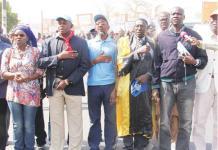 La grève des syndicats d'enseignants