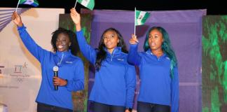 Des africains aux jeux olympiques d'hiver en Corée du Sud