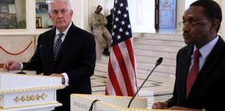 Rex Tillerson au Tchad