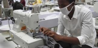 Démarrage de la production de textile à Diamniadio