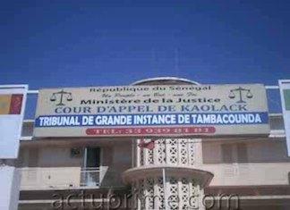 Un orpailleur condamné à Tambacounda