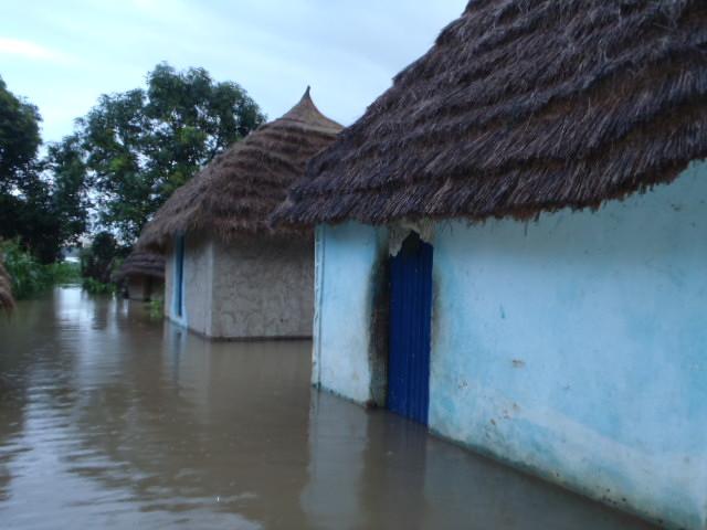 Une première forte pluie à Kédougou
