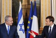"Macron met en garde contre un ""conflit"" Israël/Iran"